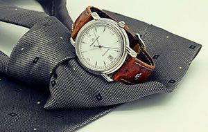 Für Männer meist so wichtig wie ein gut sitzender Anzug: Eine hochwertige Uhr.